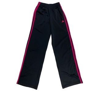 Adidas Pink & Black Track Pants Joggers
